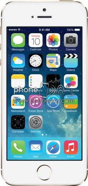 apple iphone 5s info das fiche technique prix tests date de sortie phone das. Black Bedroom Furniture Sets. Home Design Ideas