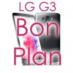 Bon plan LG G3 au meilleur prix
