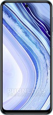 DAS du Xiaomi Redmi Note 9 Pro