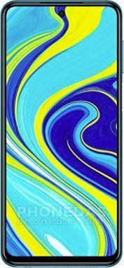 DAS du Xiaomi Redmi Note 9S